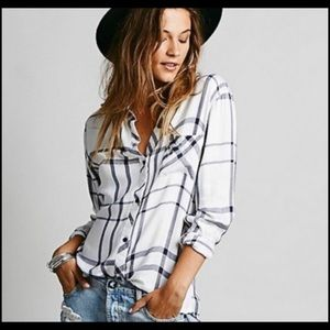 Rails by Free People Button Down